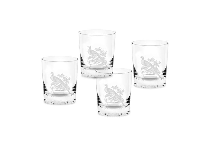 Spode Glen Lodge Set of 4 Tumblers Double Old Fashioned 0.35l