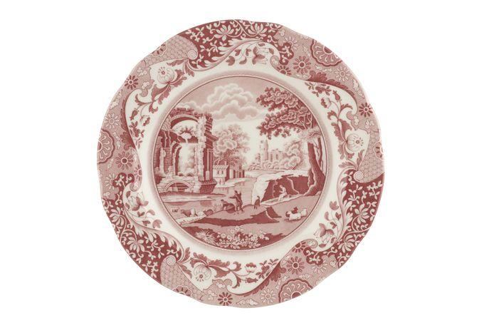 Spode Cranberry Italian Dinner Plate