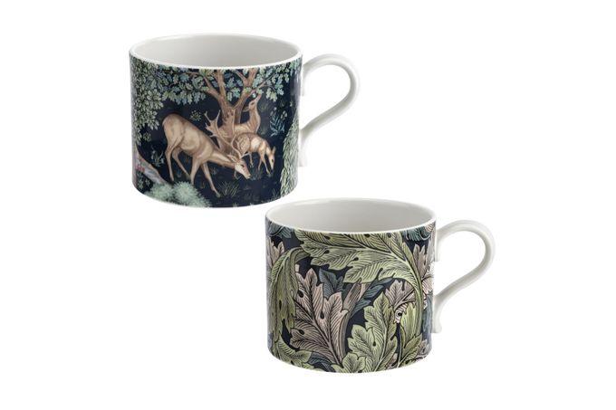 Spode The Original Morris & Co. Mug - Set of 2 Brook & Acanthus 0.34l
