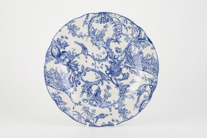 "Spode Provincial Garden - Blue Breakfast / Salad / Luncheon Plate 9"""