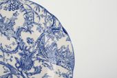 "Spode Provincial Garden - Blue Breakfast / Salad / Luncheon Plate 9"" thumb 2"