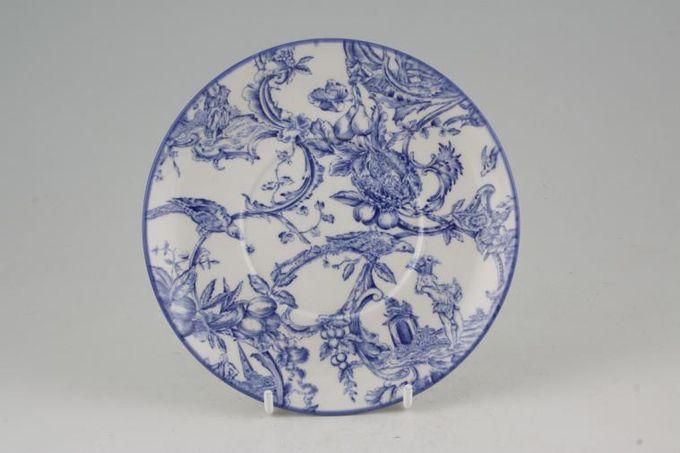Spode Provincial Garden - Blue Mug Coaster MUP saucer - Ascot Shape