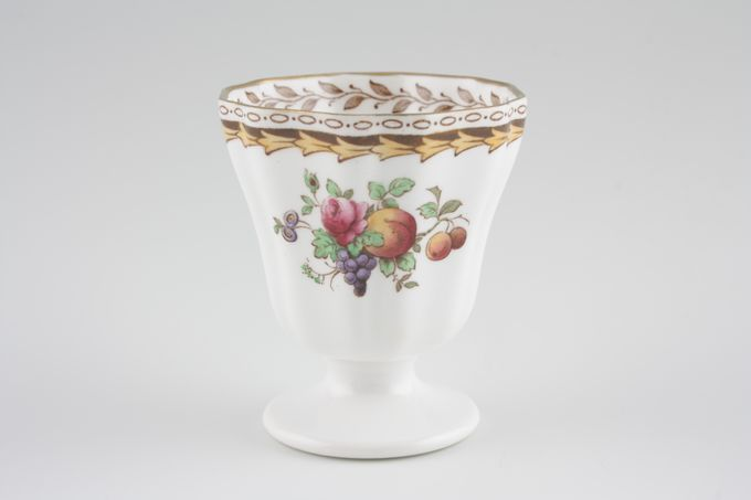 Spode Rockingham - Gold edge Egg Cup Harrods Backstamp