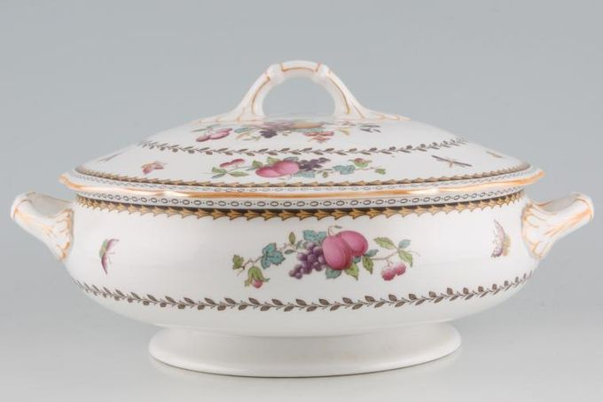 Spode Rockingham - Orange Edge - Y5194 Vegetable Tureen with Lid
