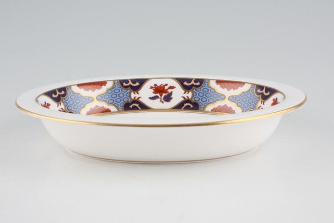 Spode Shima Vegetable Dish (Open) Shima Border 9 1/2""