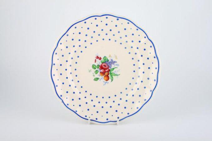 "Spode Polka Dot - Spode's Breakfast / Salad / Luncheon Plate 8 3/4"""