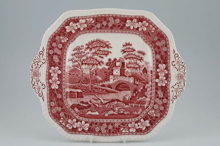Spode Spode's Tower - Pink - New Backstamp