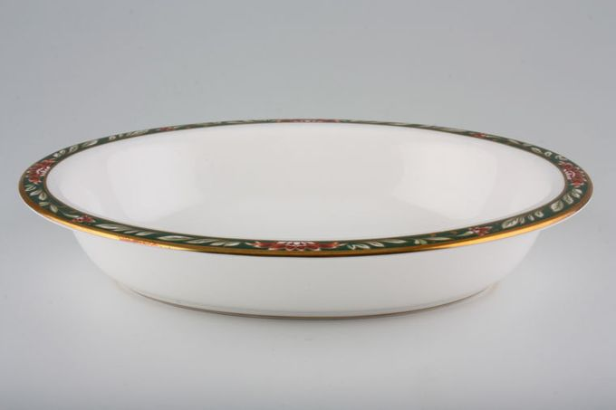 """Spode Tamarind - Y8585 Vegetable Dish (Open) Oval 9 1/2"""""""