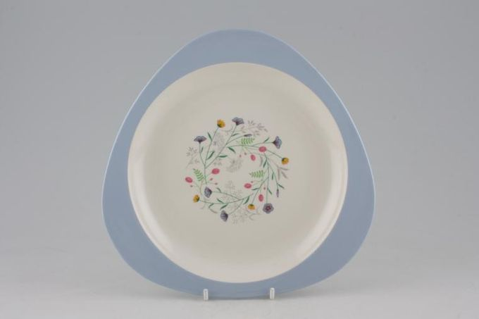 "Spode Wayside Breakfast / Lunch Plate Triangular 8 3/4"""