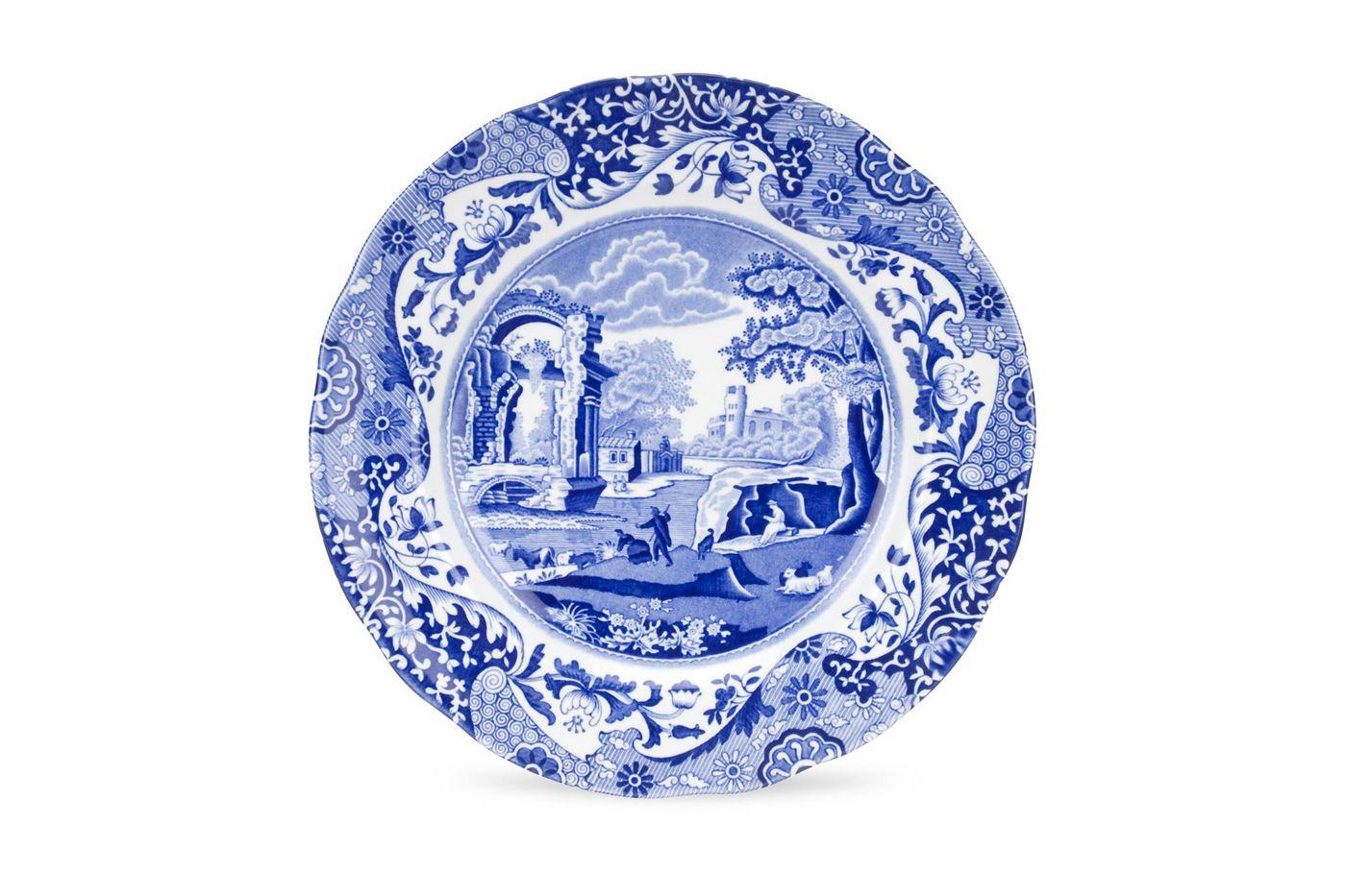 "Spode Blue Italian Breakfast / Salad / Luncheon Plate 9 1/8"" thumb 1"