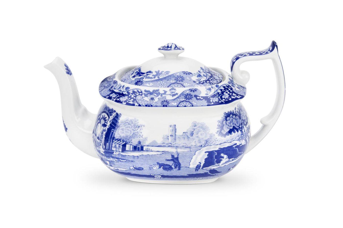 Spode Blue Italian Teapot 2pt thumb 1