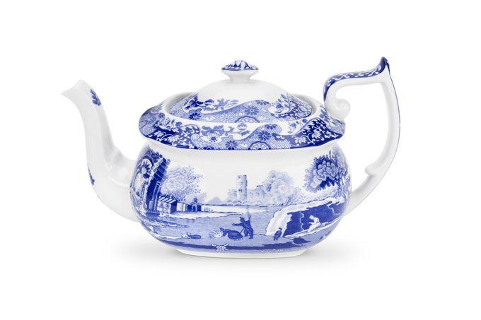 Spode Blue Italian Teapot 2pt