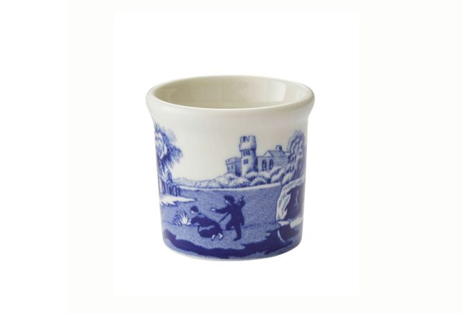 Spode Blue Italian Egg Cup Not Footed