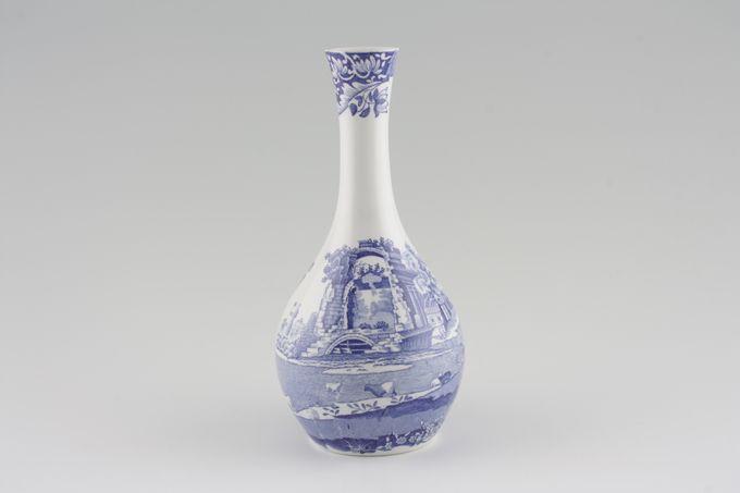 """Spode Blue Italian Bud Vase 7 3/4"""""""