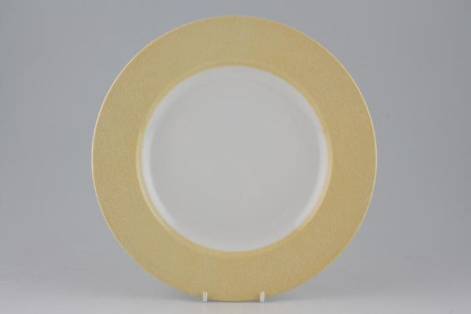 Spode Vermicelli - Yellow Dinner Plate 10 3/4""