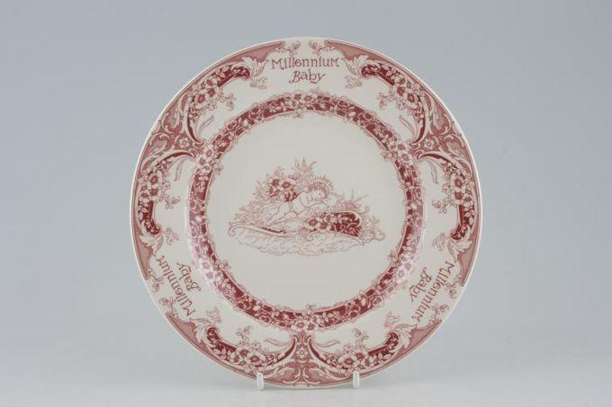 "Spode Millennium Baby Starter / Salad / Dessert Plate Pink 7 3/4"""