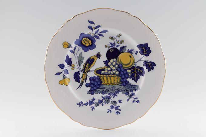 "Spode Blue Bird - Gold Edge Dinner Plate 10 3/4"""
