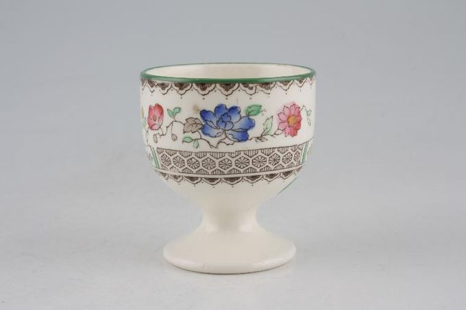 Spode Chinese Rose - Old Backstamp Egg Cup Round Footed 1 7/8 x 2""