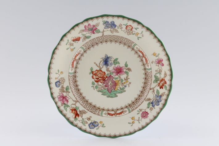 Spode Chinese Rose - Mint and White inside
