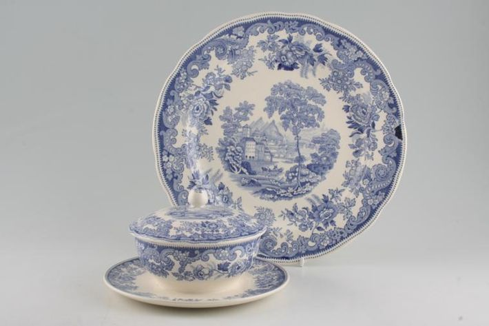 Spode Severn - Blue