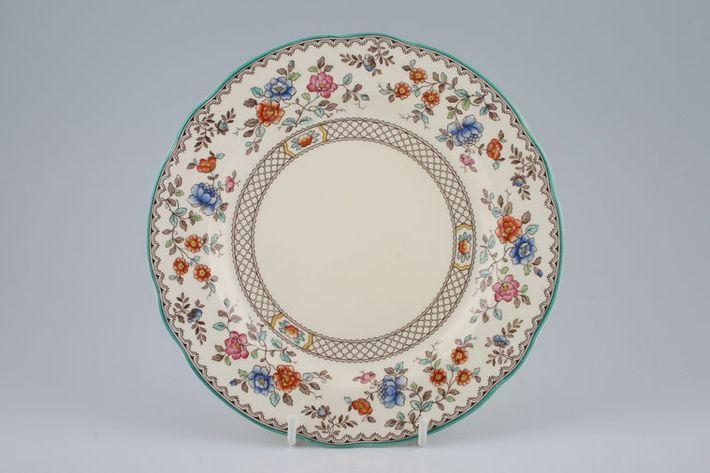 Spode Audley Green Edge Royal Jasmine - Pottery