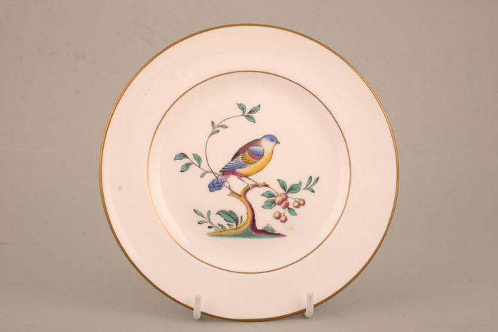 Spode Queen's Bird - White - Gold Rim