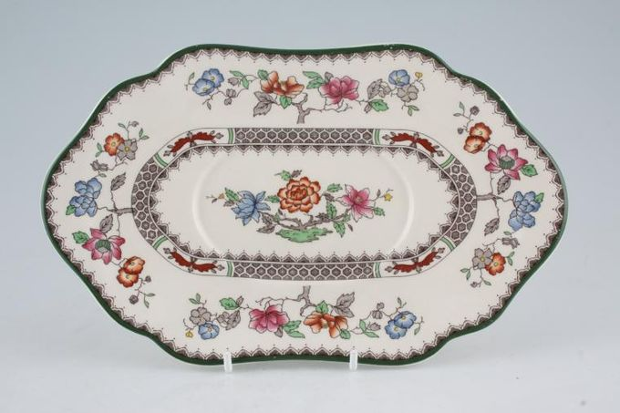 Spode Chinese Rose - New Backstamp Sauce Boat Stand