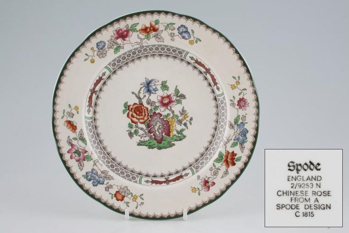 Spode Chinese Rose - New Backstamp