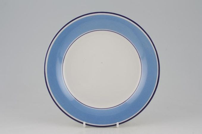 "Staffordshire Avanti - Blue Dessert / Salad Plate 8"""
