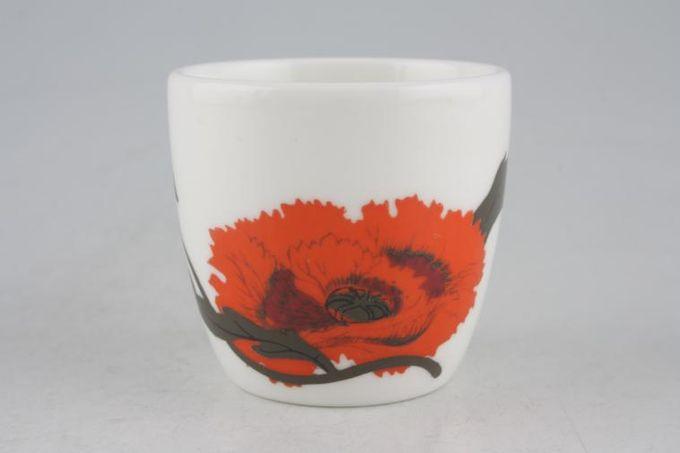 "Susie Cooper Cornpoppy Egg Cup 1 7/8 x 1 3/4"""