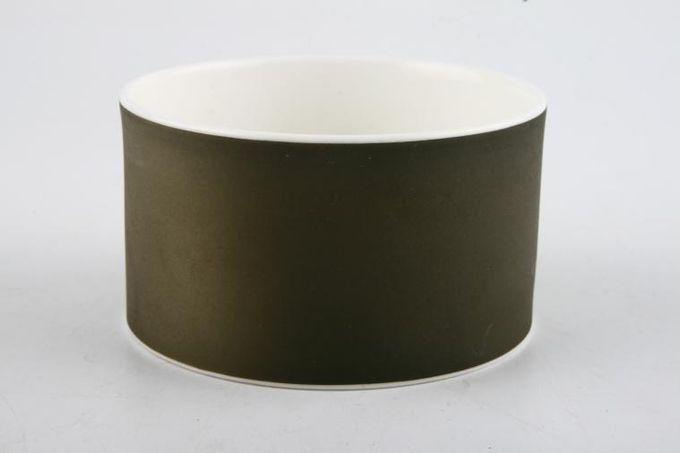 """Susie Cooper Forest - Black Urn Sugar Bowl - Open (Coffee) 3"""""""