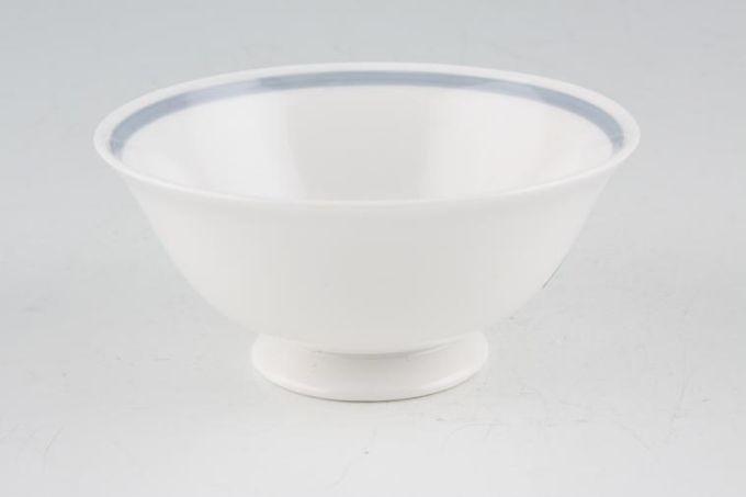 "Susie Cooper Glen Mist - Signed In Blue Sugar Bowl - Open (Coffee) Flared 3 3/4"""