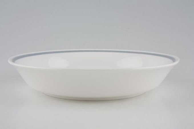 Susie Cooper Glen Mist - Signed In Blue Soup / Cereal Bowl 7 5/8""