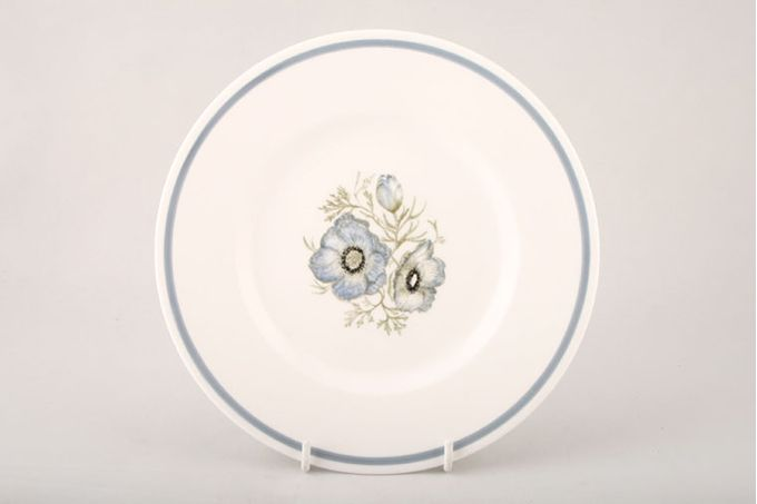 Susie Cooper Glen Mist - Signed In Blue Tea / Side / Bread & Butter Plate 6 1/2""