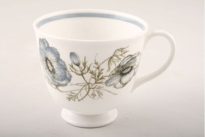Susie Cooper Glen Mist - Signed In Blue Teacup tulip shape 3 1/4 x 3""