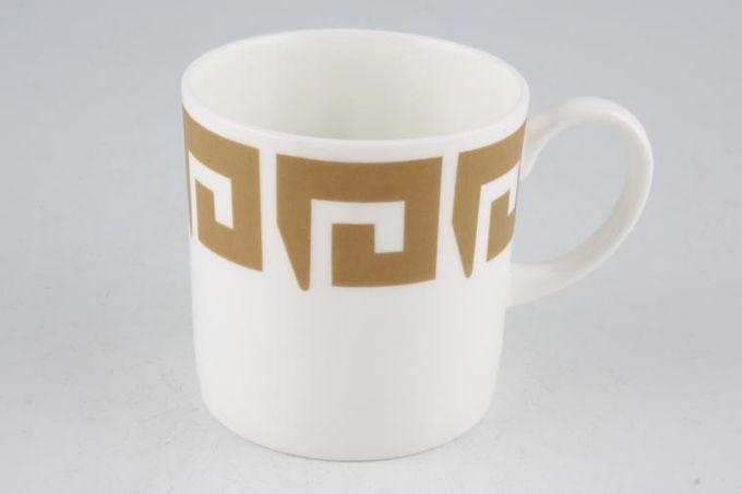 """Susie Cooper Keystone - Old Gold - Black Urn Teacup 2 7/8 x 3"""""""