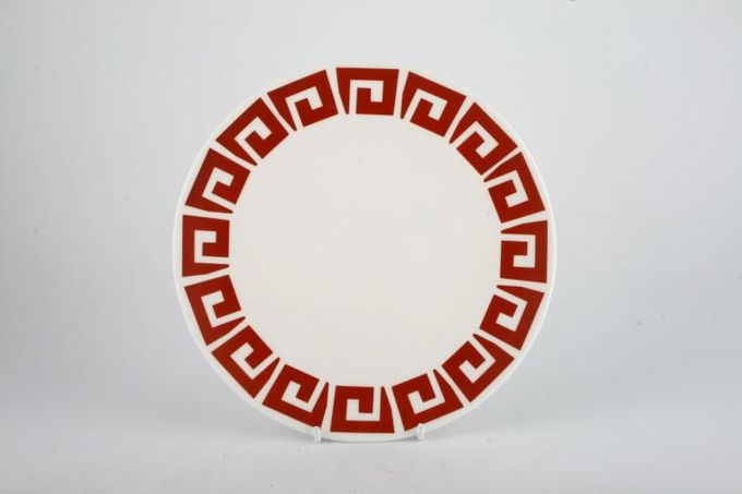 Susie Cooper Keystone - Red Breakfast / Salad / Luncheon Plate 8""