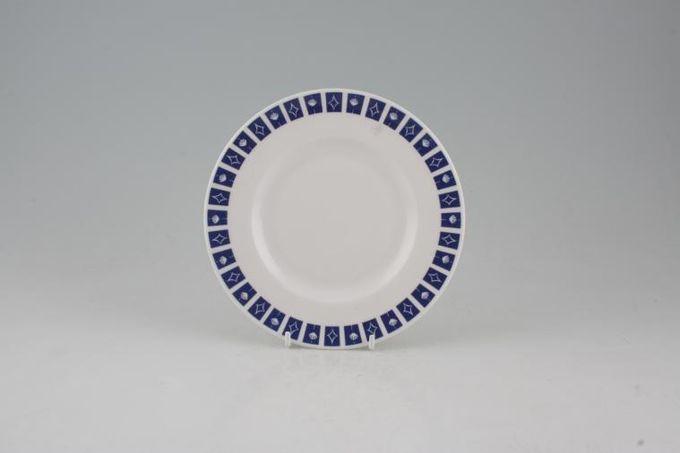 "Susie Cooper Mercury Tea / Side / Bread & Butter Plate 6 1/2"""