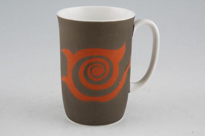"Susie Cooper Nebula Mug Green 2 3/4 x 4"""