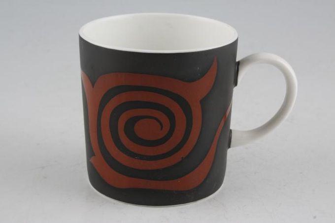 """Susie Cooper Nebula Coffee/Espresso Can Black 2 5/8 x 2 5/8"""""""