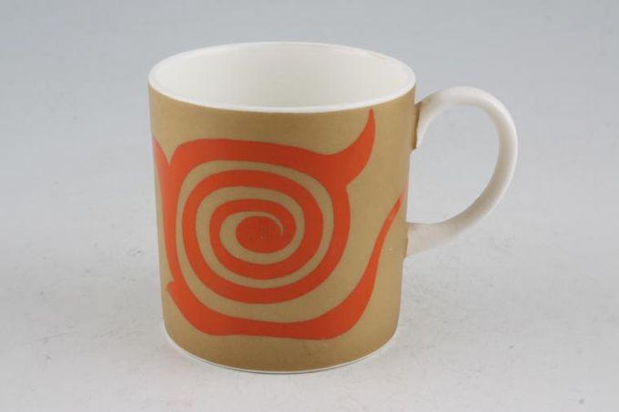 "Susie Cooper Nebula Coffee/Espresso Can Old Gold 2 1/2 x 2 5/8"""