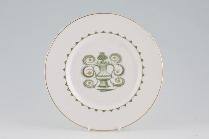 "Susie Cooper Assyrian Motif - C1010 Starter / Salad / Dessert Plate 8 3/8"""