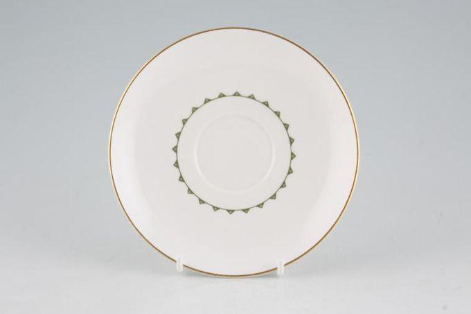 "Susie Cooper Assyrian Motif - C1010 Tea Saucer 5 3/4"""