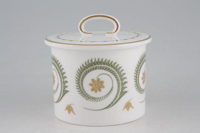 Susie Cooper Assyrian Motif - C1010 Sugar Bowl - Lidded (Tea)