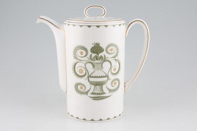 Susie Cooper Assyrian Motif - C1010 Coffee Pot 2 1/2pt