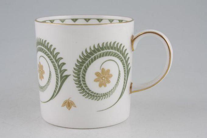 "Susie Cooper Assyrian Motif - C1010 Coffee/Espresso Can 2 5/8 x 2 1/2"""
