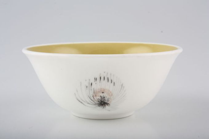 "Susie Cooper Teazle Sugar Bowl - Open (Coffee) 3 5/8"""
