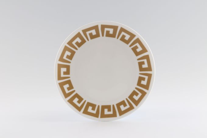 Susie Cooper Keystone - Old Gold - Member of Wedgwood Group Tea / Side / Bread & Butter Plate 6 1/2""