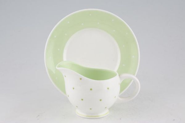 Susie Cooper Raised spot - Apple Green