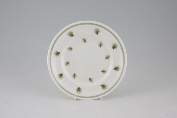 """Susie Cooper Whispering Grass - Green Tea / Side / Bread & Butter Plate 6 1/2"""""""